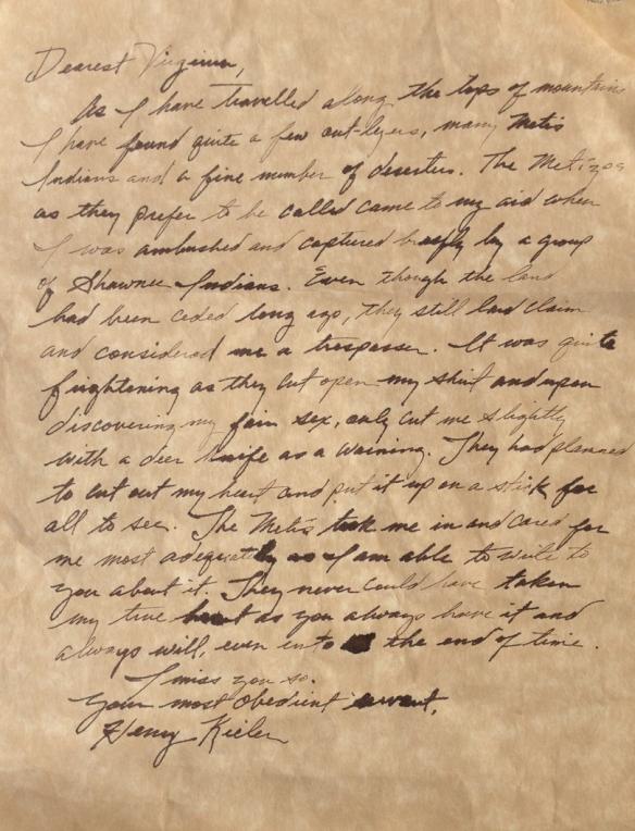 Henry Letter heart