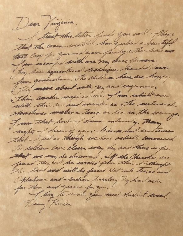 Henry Letter OK