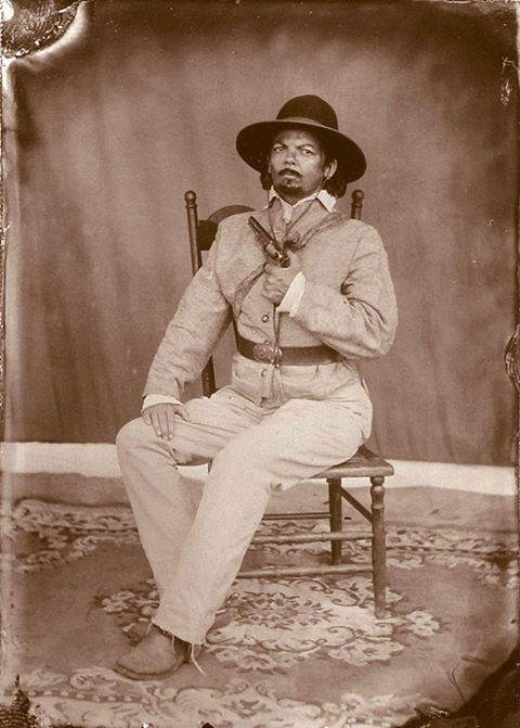 Henry in disguise just after Cold Harbor 1864