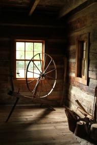 Eddins spinning wheel