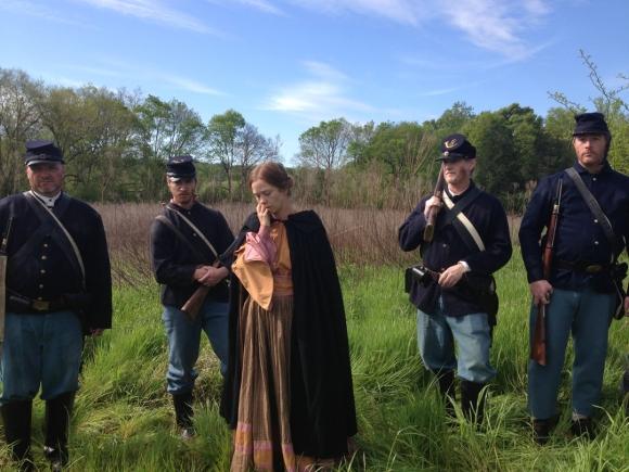 Virginia taken hostage by the Feederal troops
